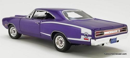 GMP 1:18 1970 Dodge Coronet Super Bee: Plum Crazy
