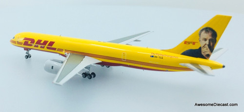 NG Models 1:400 Boeing 757-200PCF: DHL Jeremy Clarkson - The Flying Orangutan Livery