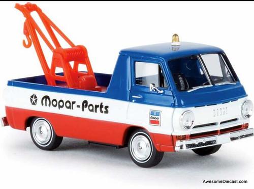 Brekina 1:87 Dodge A100 Tow Truck: Mopar Parts