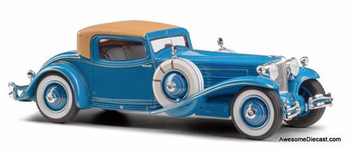 Esval Models 1:24 1929 Cord L-29 Coupe: Count Alexis de Sakhnoffsky