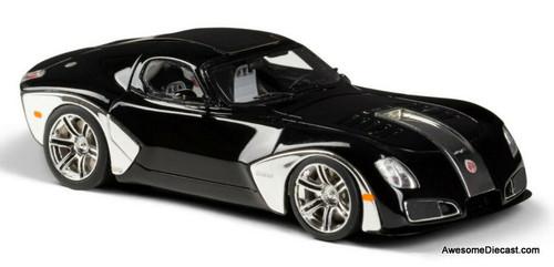 Esval Models 1:43 2010 Devon GTX, Black/Chrome