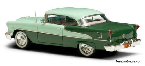 Esval Models 1:43 1955 Oldsmobile Super 88 Holiday Coupe, Light/Dark Green