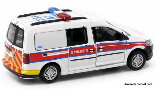 Tiny 1:64 Volkswagen Caddy: Hong Kong Police