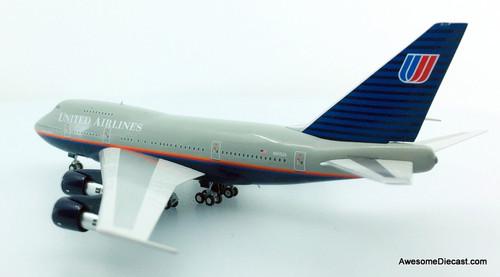 NG Models 1:400 Boeing 747SP: United Airlines, Battleship Livery