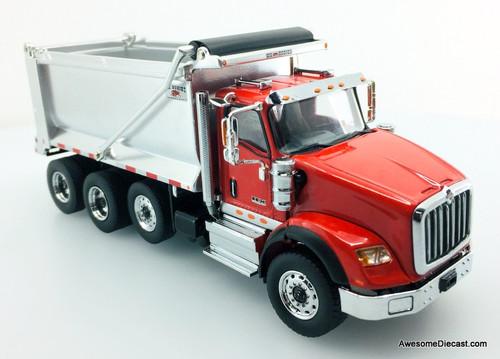 Diecast Masters 1:50 International HX260 Tandem Truck w/Pusher Axle  Dump Truck