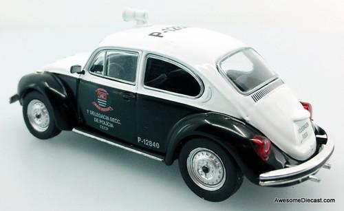 DeAgostini 1:43 Volkswagen Beetle: Civil Police Sao Paulo