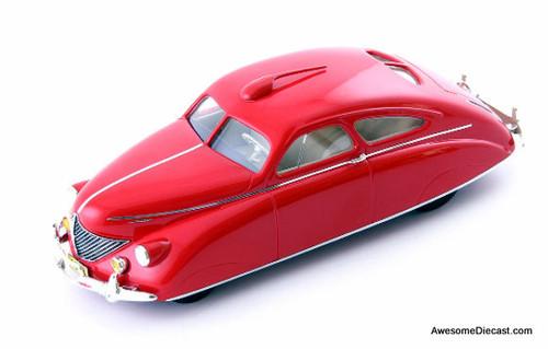 AutoCult 1:43 1938 Thomas Rocket Car, Red