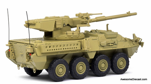 Solido 1:48 2002 General Dynamics Lan Systems M1128 MGS Stryker: Desert Camouflage