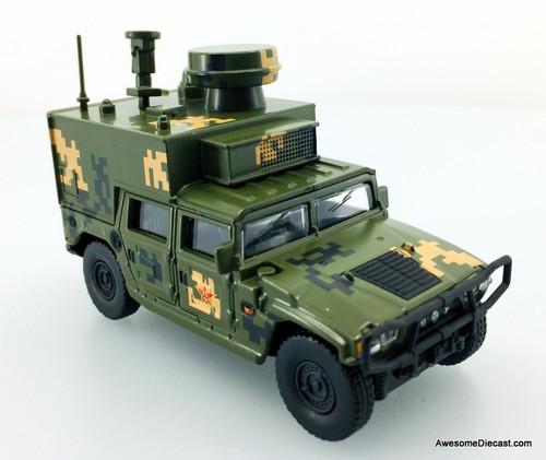 Xcar 1:64 Dongfeng Jiefang Army Battle Vehicle