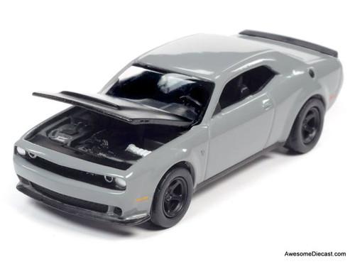 AutoWorld 1:64 2018 Dodge Challenger SRT Demon, Destroyer Grey