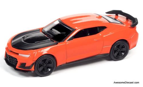 AutoWorld 1:64 2019 Chevrolet Camaro ZL1, Orange Crush