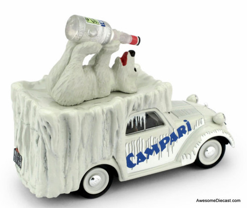 Brumm 1:43 1950 Fiat Furgoncino Van: Campari Cordial