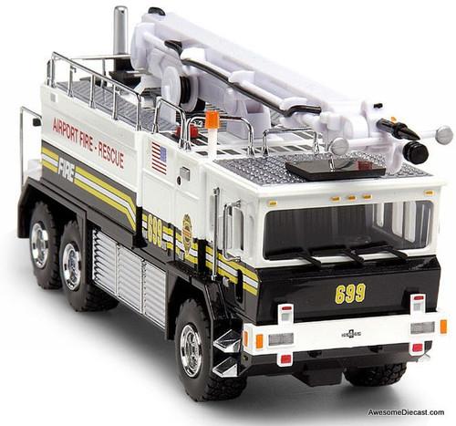 Code 3 1:64 Oshkosh Airport Fire Crash Rescue Truck: The Chiefs Edition
