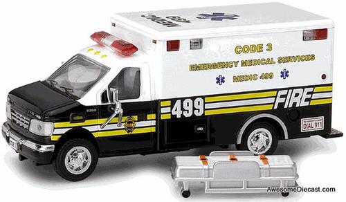 Code 3 1:64 Ford E-350 Ambulance: Chiefs Edition