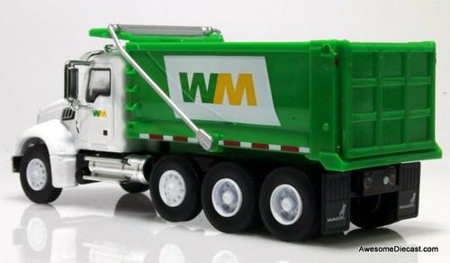 Greenlight 1:64 2020 Mack Granite Dump Truck: Waste Managment