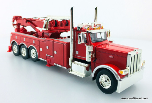 DCP by FG 1:64 Peterbilt 389 Day Cab w/Century 1150 Rotator Wrecker, Viper Red