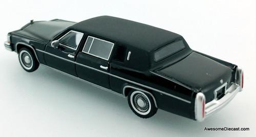 BoS 1:87 Cadillac Fleetwood Limousine, Black