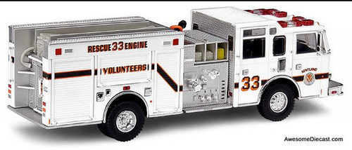 Code 3 1:64 Pierce Side Mount Pumper: Kentland Volunteer Fire Department, Maryland