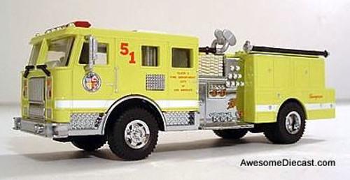 Code 3 1:64 Seagrave Pumper: City Of Los Angeles No.51