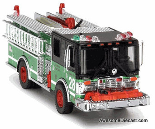 Code 3 1:64 Luverne Pumper: St. Patricks Day Special, Chicago Fire Department