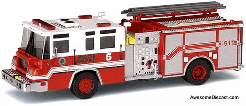 Code 3 1:64 Pierce Quantum Pumper Engine 5: Virginia Beach Fire Department
