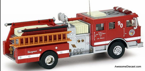 Code 3 1:64  Seagrave Pumper, Red: City Of Los Angeles Fire Department