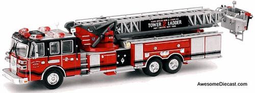 Code 3 1:64 Sutphen Tower Ladder 2: Port Chester, New York Fire Department