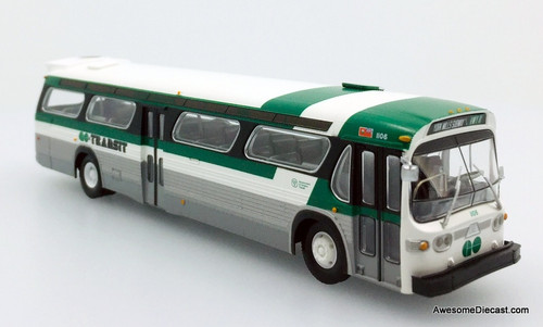Rapido 1:87 GM TDH 5303 New Look Transit Bus: GO Transit - Destination, York Mills Station, Hwy 11
