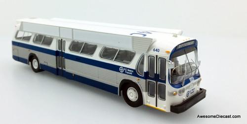 Rapido 1:87 GM TDH 5303 New Look Transit Bus Kansas City: Destination, 31-31st St-Veterans Hospital