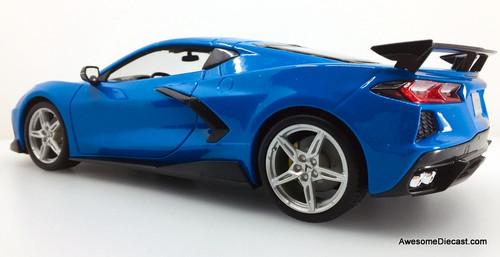 Maisto 1:18 2020 Chevrolet Corvette Stingray C8 Z51, Blue