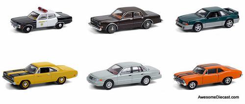 Greenlight 1:64 Hollywood Series 31: 6 Piece Model Car Set