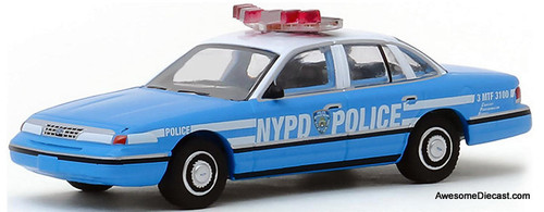 Greenlight 1:64 1993 Ford Crown Victoria Police Interceptor: New York City Police Department