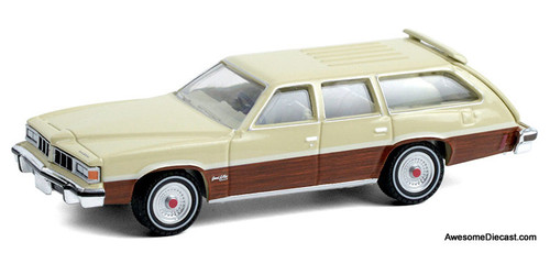 Greenlight 1:64 1976 Pontiac Grand LeMans Safari, Bavarian Cream
