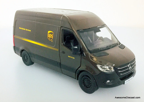 KSmart 1:48 Mercedes Benz Sprinter: UPS Worldwide Services