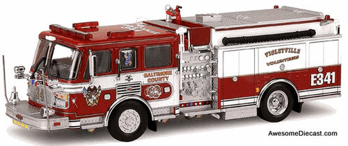 Code 3 1:64 American LaFrance Eagle Pumper: Violetville, Maryland Fire Department