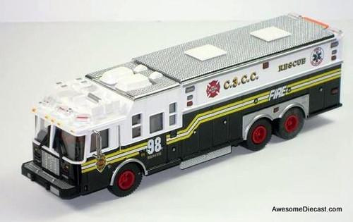 Code 3 1:64 Saulsbury Heavy Rescue Fire Apparatus: Chiefs Edition #2
