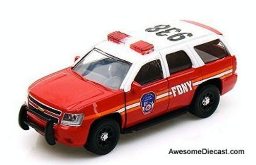 Jada Hero Patrol 1:64 2010 Chevrolet Tahoe: Fire Department Of New York City