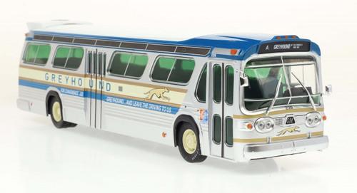 Iconic Replicas 1:43 GM TDH5301 Transit Bus: Greyhound 1964 NY World's Fair