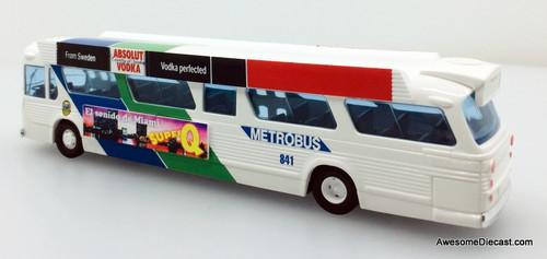 Busch 1:87 GM Fishbowl Metro Bus: City of Miami