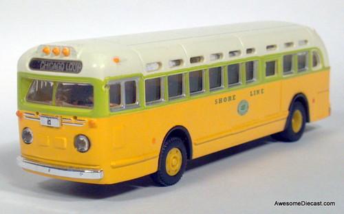CMW 1:87 GMC TDH-3610 Transit Bus National City Lines/Shore Line: Destination, Chicago Loop