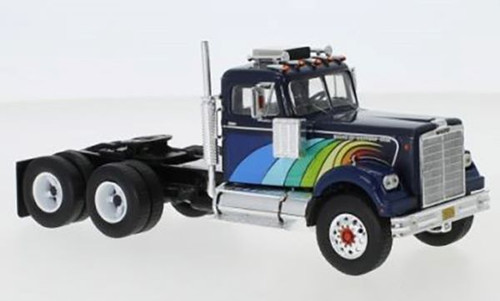 IXO 1:43 1977 White Western Star 4864 Tractor w/ Display Case