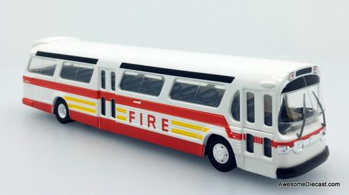 Busch 1:87 GM Fishbowl Bus: New York Fire Department