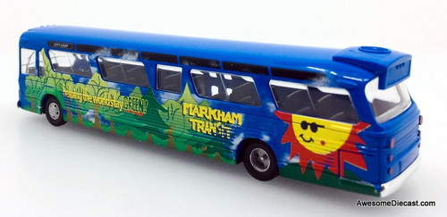 Busch 1:87 GM Fishbowl Bus Markham Transit: Ontario, Canada