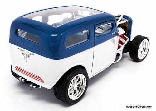 Road Signature 1:18 1931 Ford Model A Custom, Blue/White