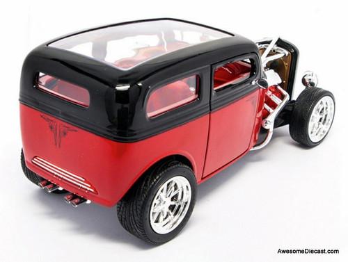Road Signature 1:18 1931 Ford Model A Custom, Black/Red