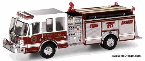 Code 3 1:64 Ferrara Pumper: Conshohocken Fire Department, Pennsylvania