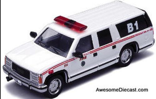 Code 3 1:64 Chevrolet Suburban: Virginia Beach Fire Department, Virginia