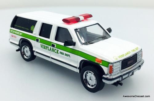 Code 3 1:64 Chevrolet Suburban: Verplanck, New York Fire Department