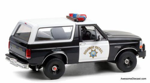 Greenlight 1:18 1995 Ford Bronco: California Highway Patrol