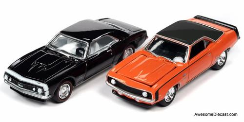 Johnny Lightning 1:64 Baldwin Motion Performance: 1967 & 1969 Chevrolet Camaro SS